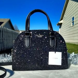✨Kate Spade Mini Reiley Laurel Way Glitter Bag